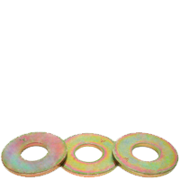 "1/4"" Plated SAE Boltalloy Flat Washer"