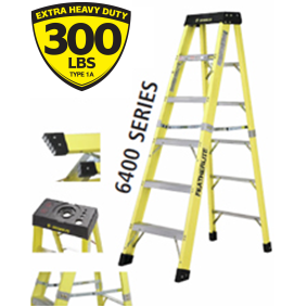 2ft Extra Heavy-Duty Fiberglass Step Ladder