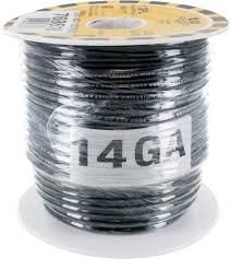 Black 14GA TEW Wire 98ft/REEL