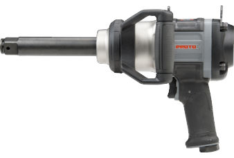 "PROTO® 1"" DRIVE PISTOL GRIP AIR IMPACT WRENCH 6"" EXTENDED ANVIL"