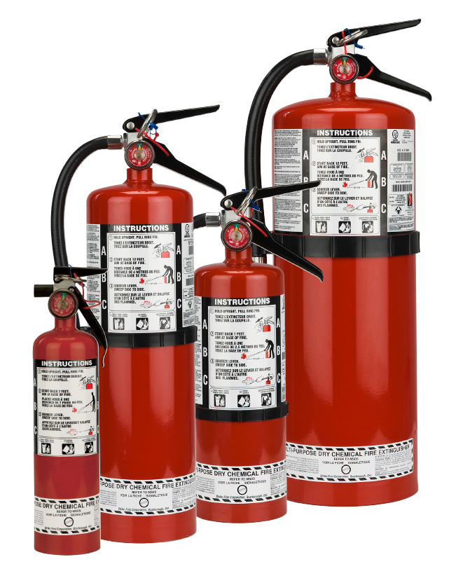 2.5lb Fire Extinguisher With Vehicle Mount
