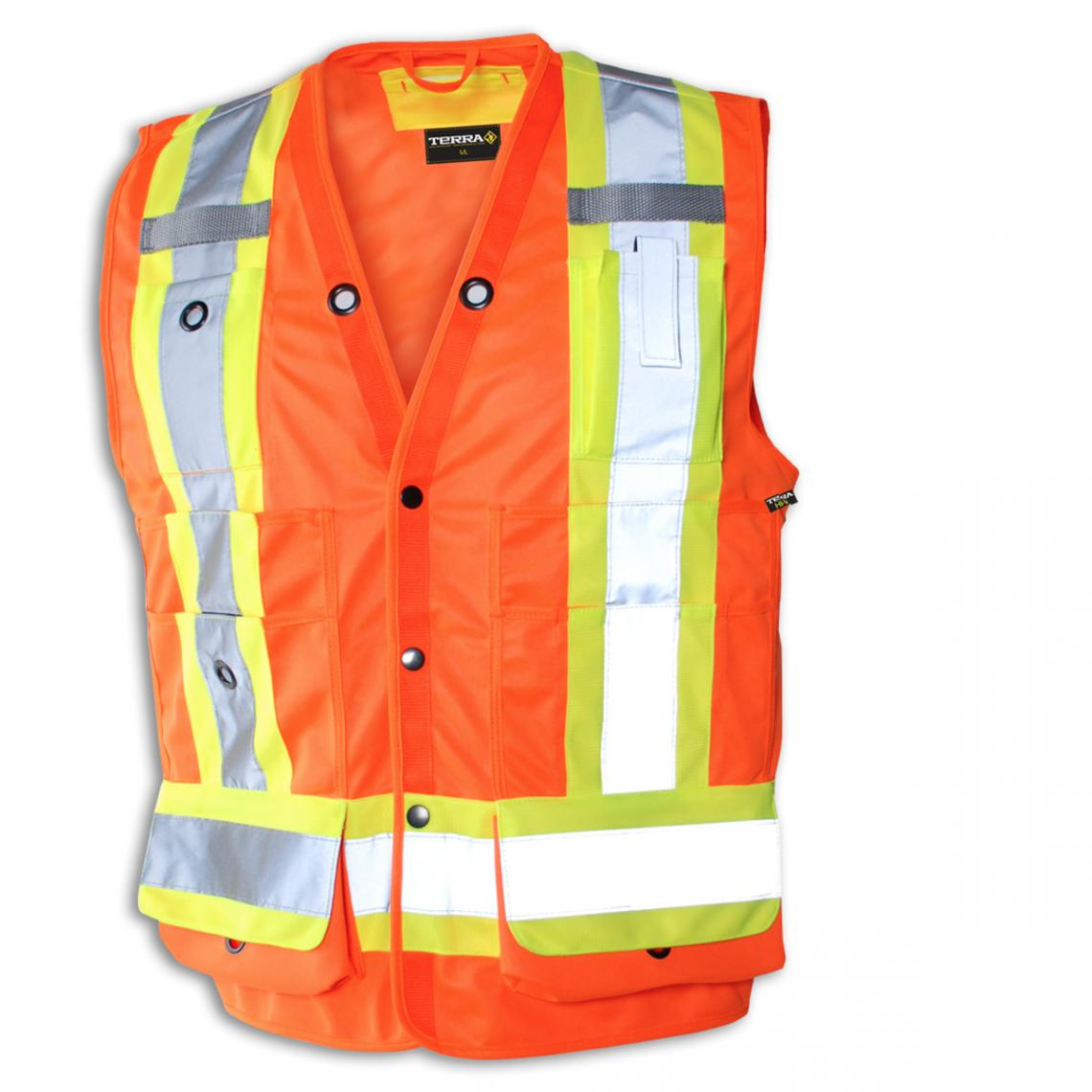 Small Orange Surveyor Vest