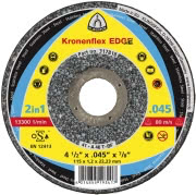 "4-1/2"" x 0.045"" x 7/8"" Flat Thin Cutting Disc"