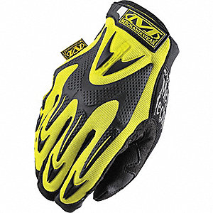 SMALL HIGH VISIBILITY YELLOW  M-PACT SERIES GLOVES