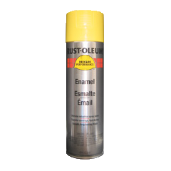 Safety Yellow Enamel Spray Paint