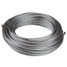 "3/4"" x 100ft Galvanized Wire Rope"