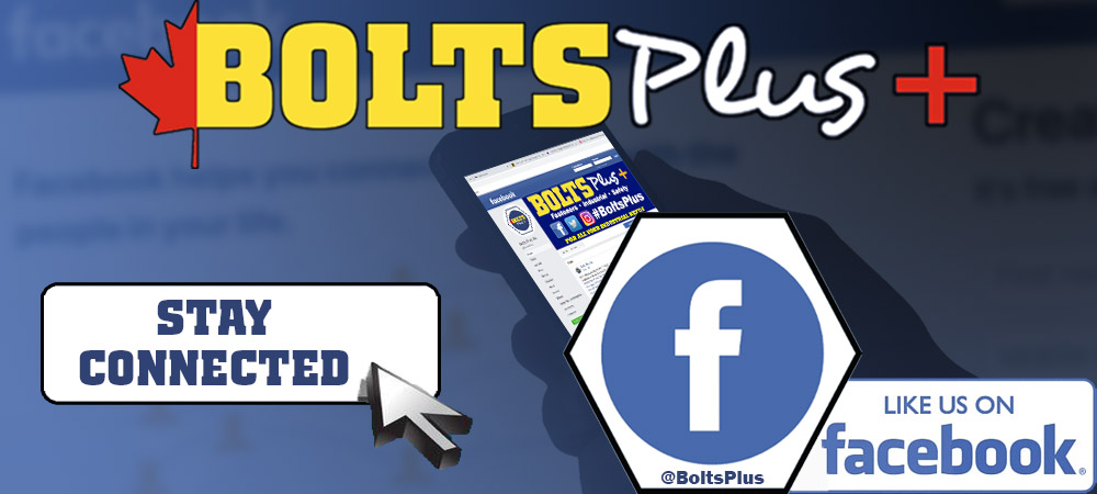 Stay connected. Like us on Facebook @BoltsPlus